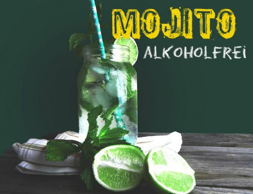 Rezept alkoholfreier Mojito / Virgin Mojito